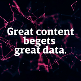Gathering audience data from your content